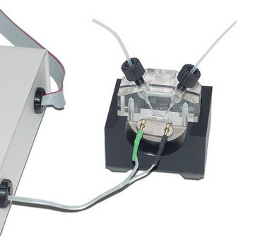 QCM flow cell kit -- super-micro quantitative analysis