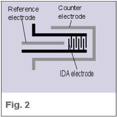 IDA Electrode - Structure