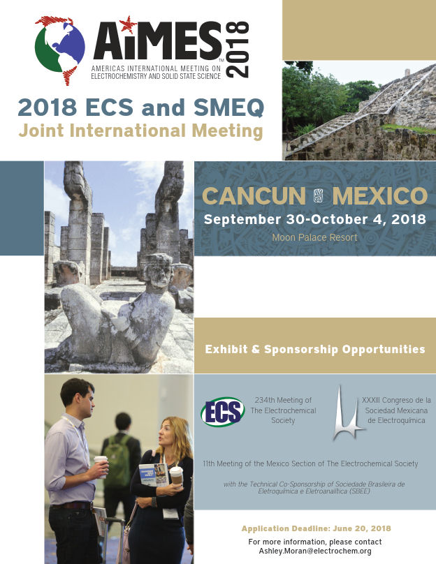 visit us at AiMES 2018 in Cancun, Mexico