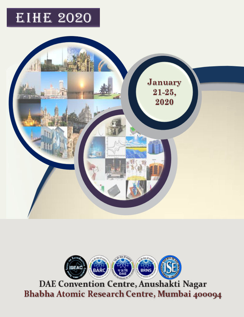 visit us at International Conference on Electrochemistry EIHE-2020 in Mumbai, India
