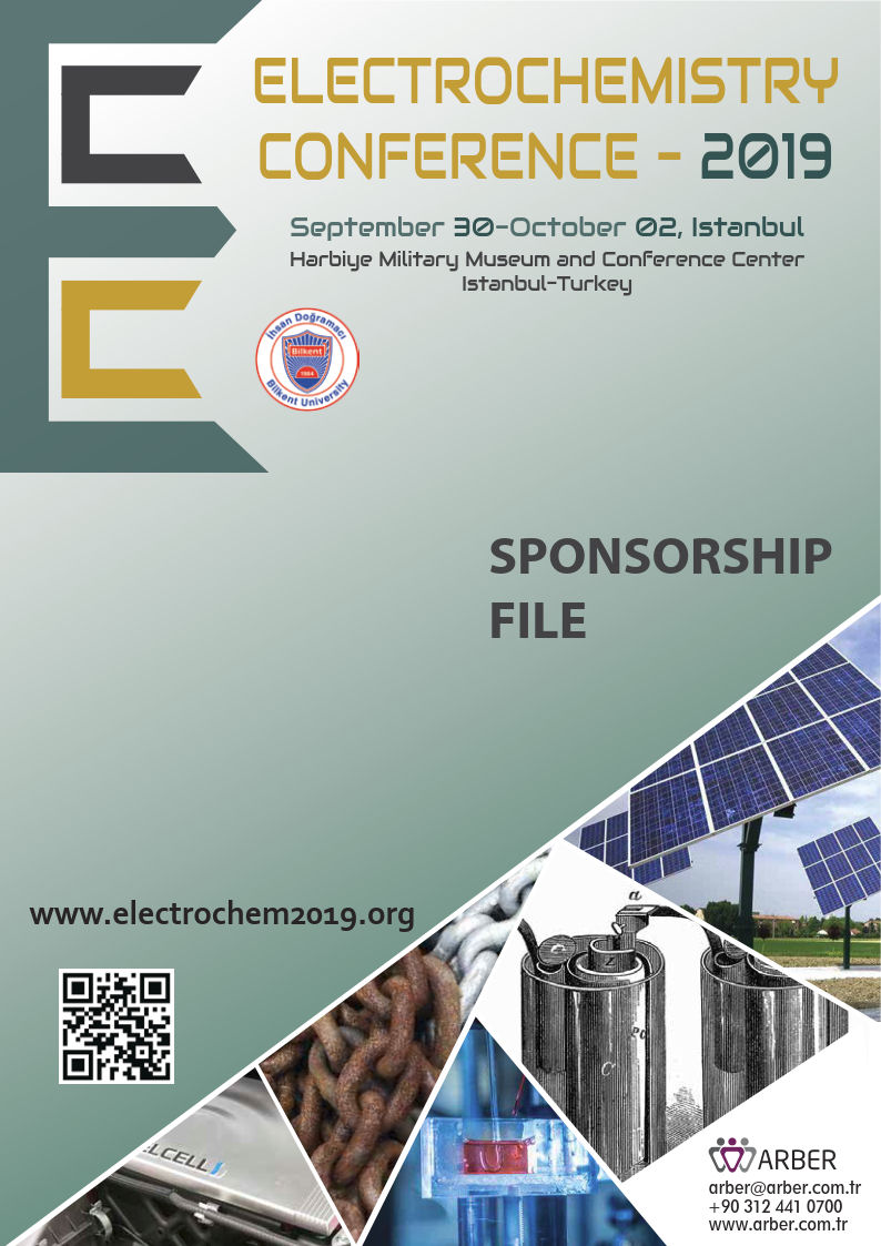visit us at Electrochem - 2019 - Istanbul, Turkey