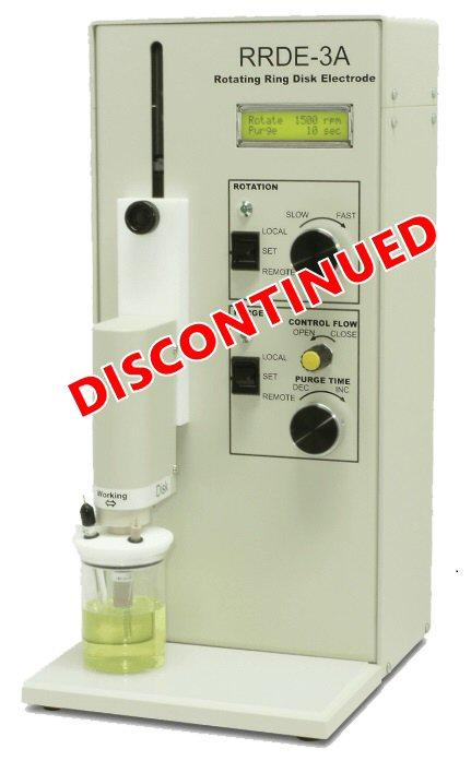 Rotating Ring Disk Electrode Rotator (RRDE-3) apparatus