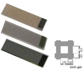 Fig. 3-6 ALS thin film grid electrode.