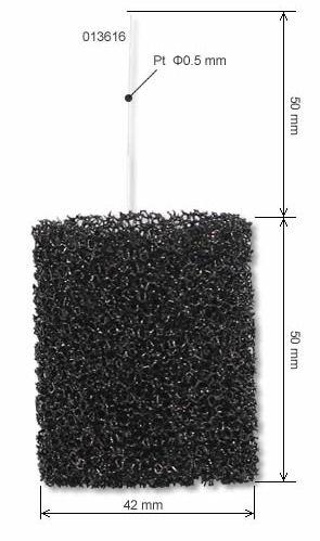 Porous carbon electrode